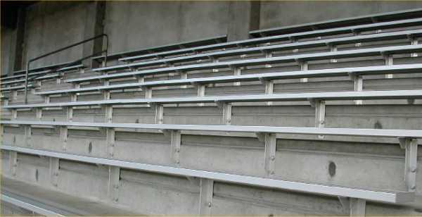 Stadium Troy Field Stadium Troy Field Concrete Tech